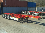 Containerchassis Vermietung